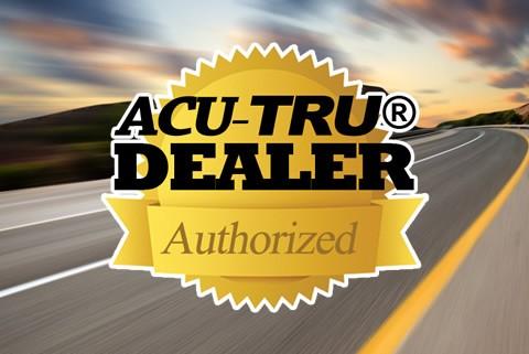 we are an acu-tru authorized dealer