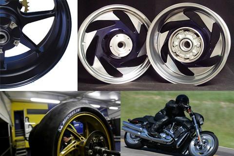motorcycle rim repair