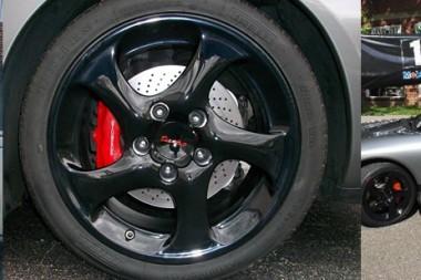 porsche wheels custom refinishing