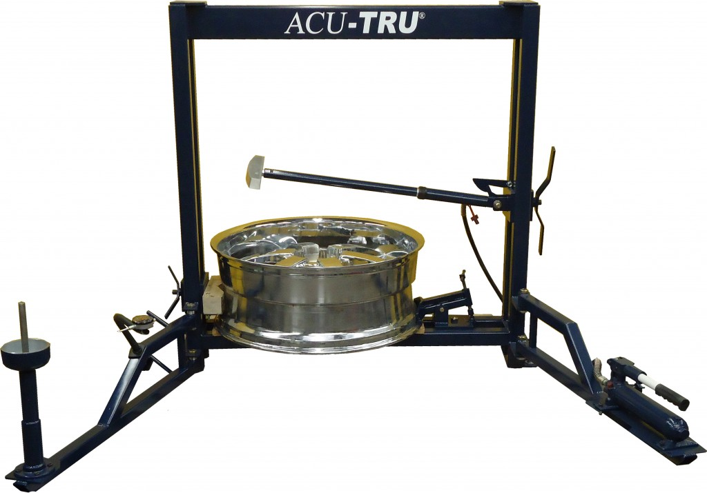 Mobile Wheel Repair : Bent rim repair machines wheel equipment